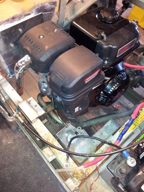 Engine swap - Golf Carts Forum
