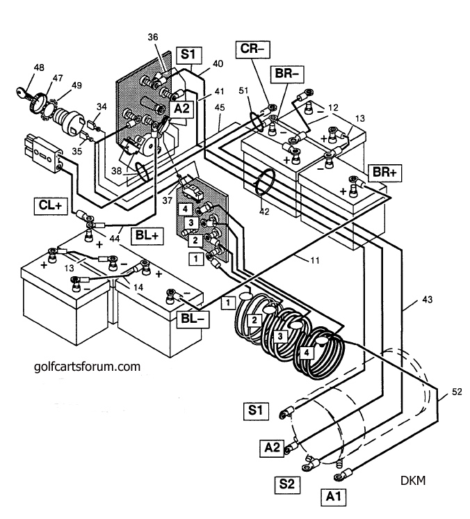yamaha g22 wiring diagram yamaha g16 engine diagram