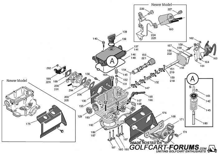 EZGO    Robin EH29 and EH35C  Gas  Engine    Diagrams     Golf Carts Forum
