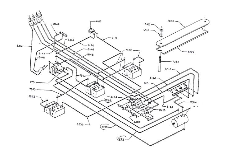 Club Car Ds 81  82  83  84  36v  Wiring Diagram